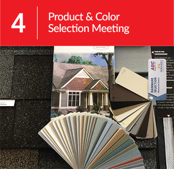 Step 4: Product and Color Selection Meeting